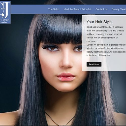 Ghost Web Design Worcester - The Clip Joint