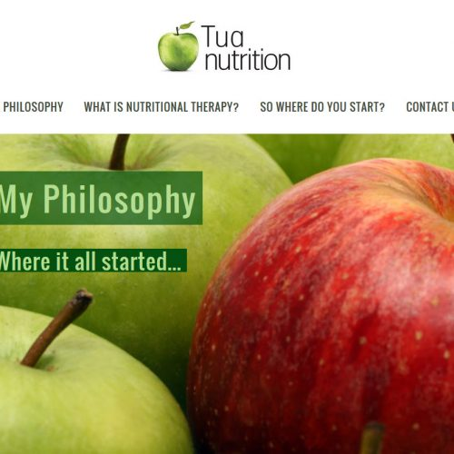 Ghost Web Design Worcester - Tua Nutrition