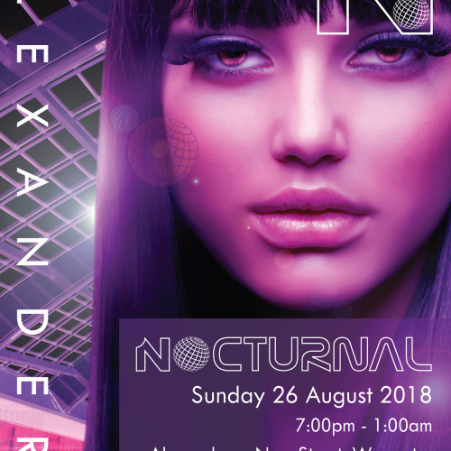 Ghost Design Worcester - Nocturnal Flyer