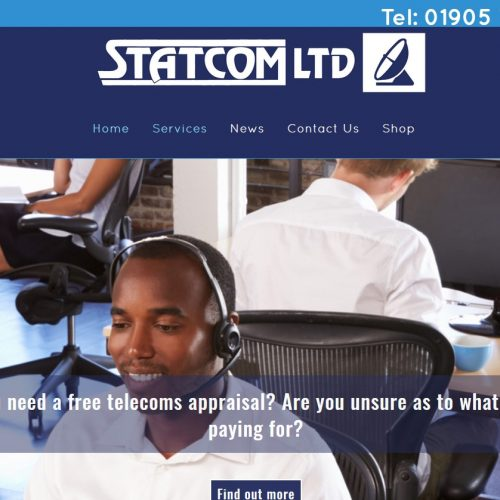 Ghost Design Worcester - Statcom Telecommunications